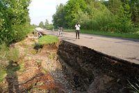 Można się uczyć na przekroju budowy drogi