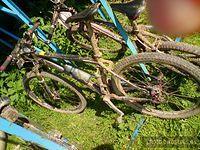 """Rower po maratonie """"Bike Maraton Polanica Zdrój 05.06.2010"""""""