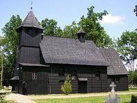 Drewniany kościółek w Starym Oleśnie