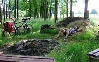 Przerwa bikera w odpowiednim miejscu :)