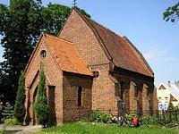 Stary kościółek w Byczynie