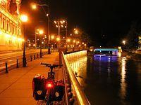 Noc we Wrocławiu jest piękna :)