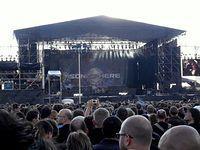 Scena z Sonisphere Festival w Warszawie.