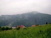Widok na góry Beskidu Niskiego - Rymanów Zdrój