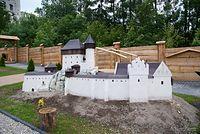makieta zamku w Smoleniu