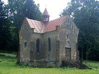 Zapomniany kościółek bodajże w Wołodzi
