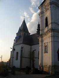 Kościół w Lesku