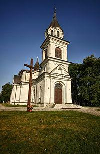 Kościół p.w. św. Rajmunda, dawna cerkiew prawosławna w Hańsku.