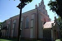 Kościół ufundowany przez Jagiełłę.