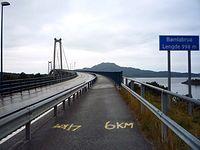 Bømlabrua, most na wyspe Spyssøya