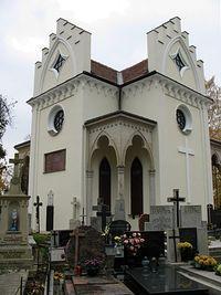 Kaplica Potockich na cmentarzu wilanowskim