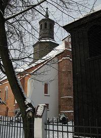Piaseczno - wieżyczka na kościele