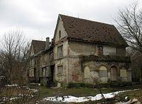 Młociny - stary dom przy ul. Anny Jagielonki