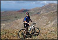 W górach na Lanzarote