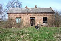 Opuszczony dom we wsi Konstantynów-waypoint  #1834
