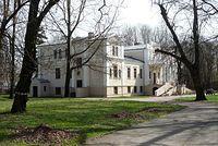 Pałac w Zaborówku- miejsce waypointa #1990