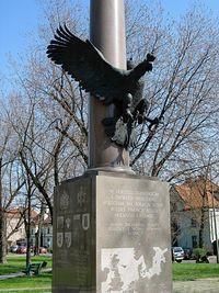 Pomnik 1 Dywizji Pancernej gen. Stanisława Maczka