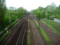 Tory kolejowe w Pruszkowie