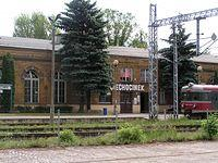 Dworzec PKP w Ciechocinku...