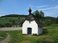 Jaworki - kapliczka w Dolinie Białej Wody