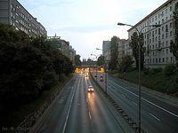 Wieczorna Trasa Łazienkowska