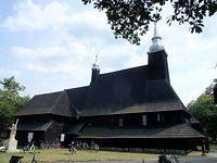 Olesno - kościółek drewniany z 1444r