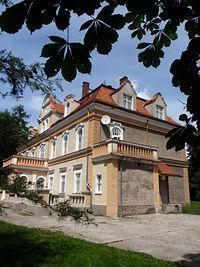 Bogdańczowice - pałac (obecnie internat)
