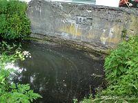 Mostek na kanale koło Starej Papierni