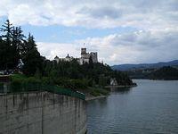 Zamek w Nidzicy i Jezioro Czorsztyńskie