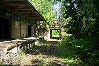 Opuszczona jednostka w Ełckim Borze