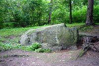 Głaz narzutowy- ołtarz ofiarny Jaćwingów