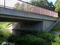 Żelbetowy most płytowy koło Tantow