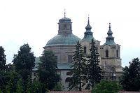 Kościół ufundowany w 1637 r. przez Jerzego Ossolińskiego