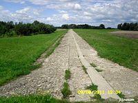 Polder Buków - przelew powierzchniowy
