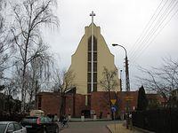 Legionowo - kościół parafii św. Jana Kantego