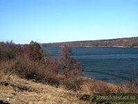 Jezioro Kierskie - widok z Baranowa