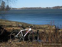 Jezioro Kierskie - widok na Kiekrz