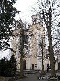 kościół w Głoskowie- dekanat piaseczyński