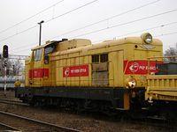 SM 42 135 w barwach PKP Energetyka