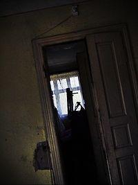 Wnętrze opuszczonego domu - Cegielnia Aniołów