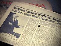 Stara gazeta - Cegielnia Aniołó