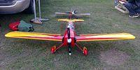 Samolot spalinowy, zdalnie sterowany