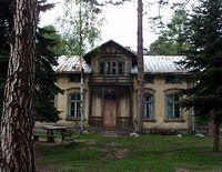 Stara willa w Leśniowie