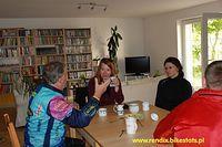 Dołączyła do nas pozostała grupa ze Szczecina. Basia, Beata i Jacek omawiają plan na dzisiaj