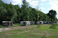 Na campingu więcej ludzi niż ostatnio