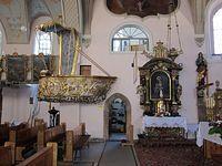 Ambona w kościele w Międzylesiu