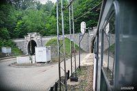 Pociąg + tunel = Mieścinie Tunel