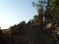 I wreszcie tytułowe, nowe odkrycie kamieniołom z przepięknymi widokami na otaczające góry. Miejsce kamieniołomu ściśle tajne przez poufne ;)).