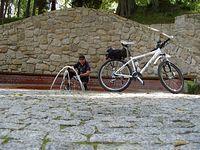 I Długopole Zdrój park zdrojowy i pewne wspomnienia z nie tak odległego wyjazdu na Czechy 212km.