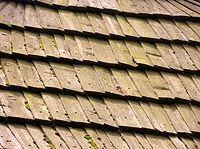 Kościół w Lipkowie - drewniane dachówki